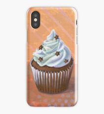 Chocolate Stars Cupcake iPhone Case/Skin