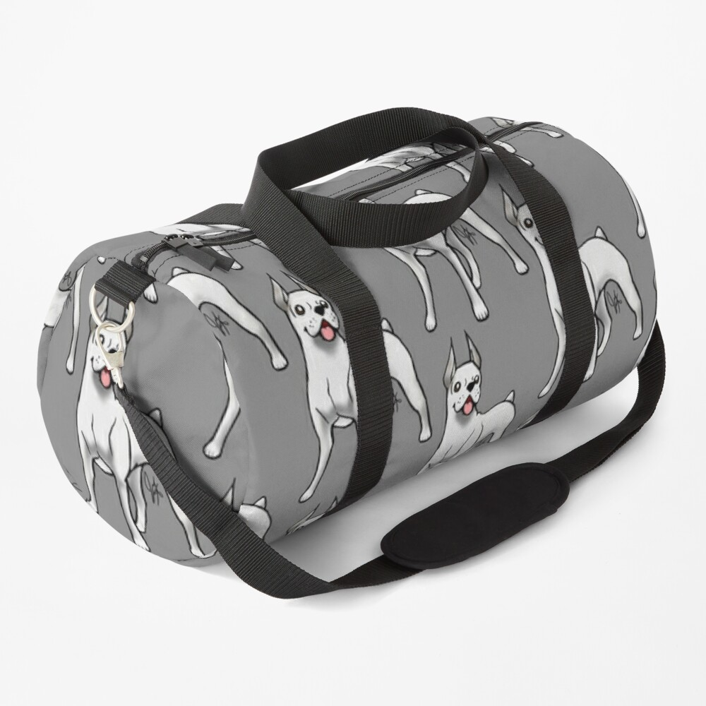 Boxer - White Duffle Bag