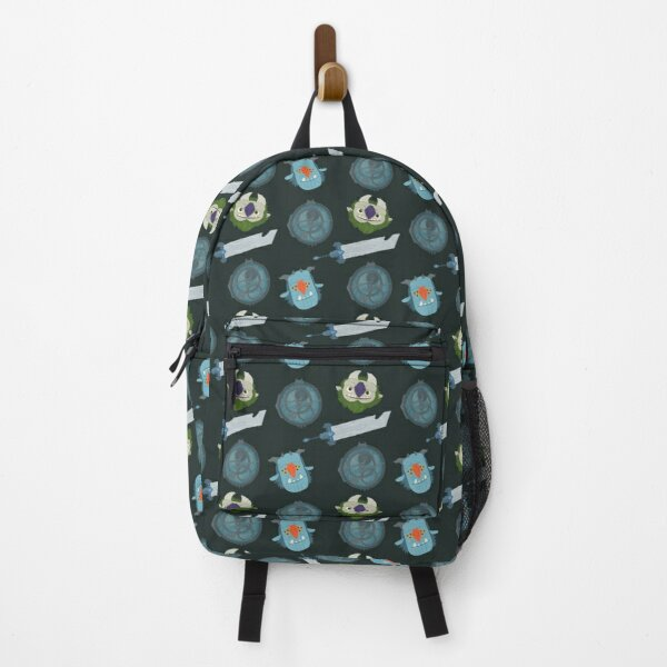 Trollhunters Repeating Pattern Backpack