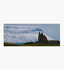 Classiebawn & Benbulben Photographic Print