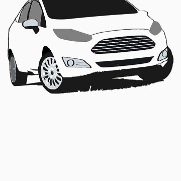 ford fiesta by lucapacky