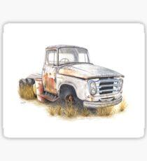 Kazart Rusty Truck Sticker