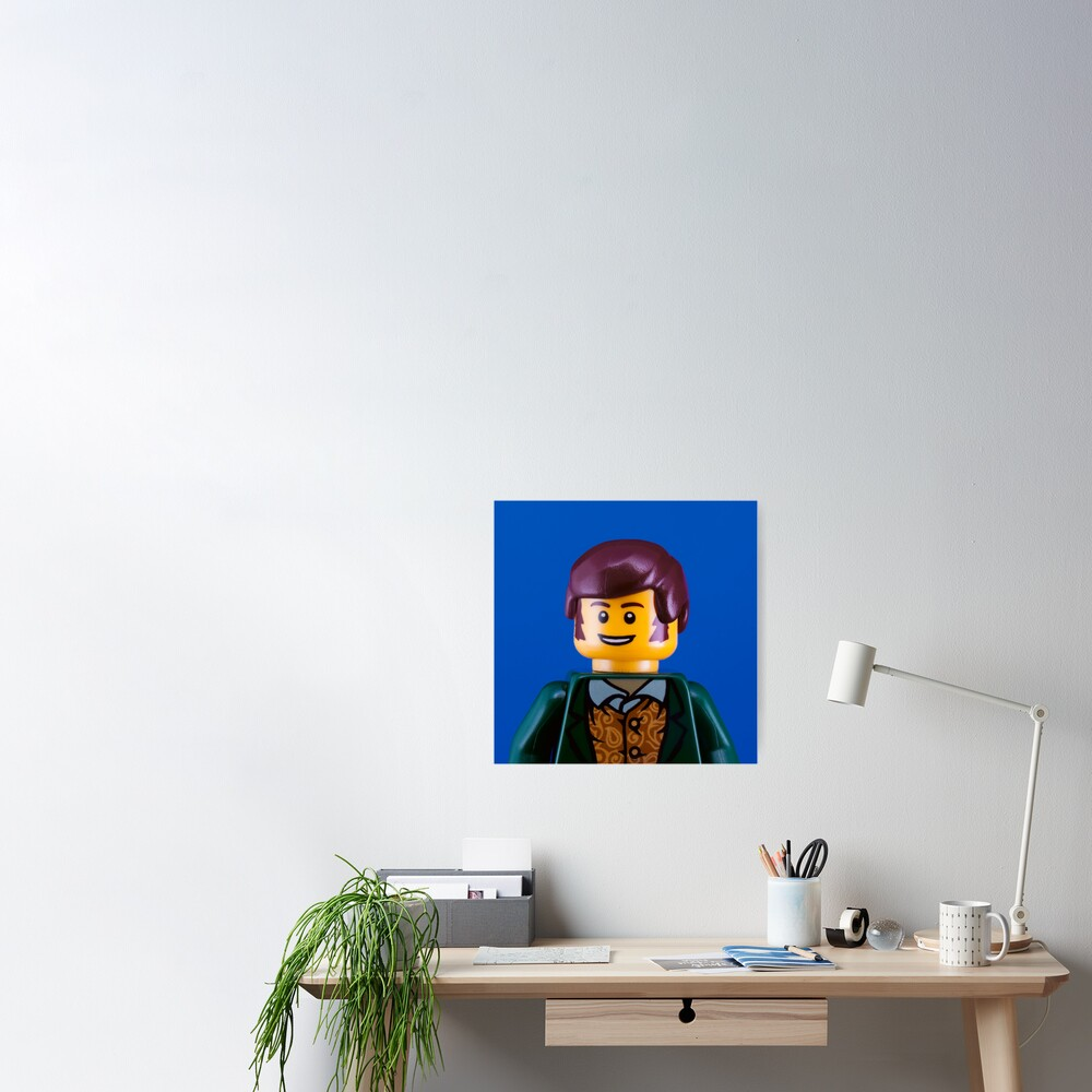 Robbie Burns Portrait Poster