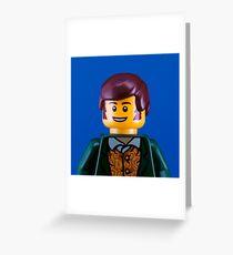 Robbie Burns Portrait Greeting Card