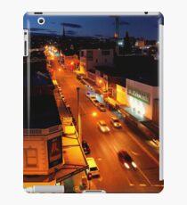 evening, elizabeth street (hobart) iPad Case/Skin