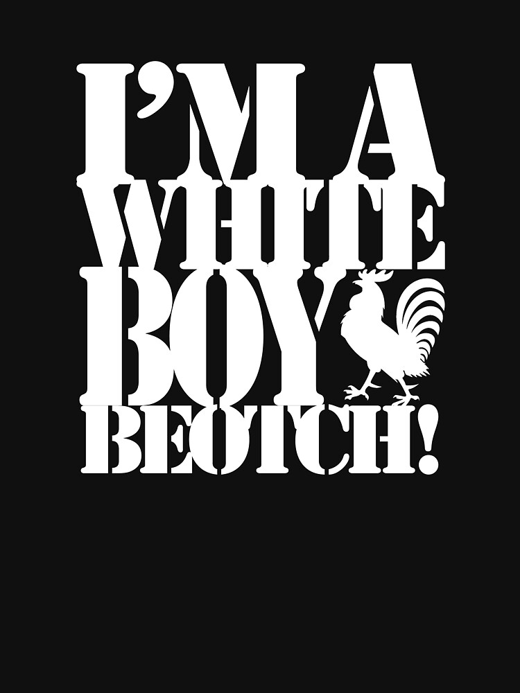 White Boys Stencil by MRPics