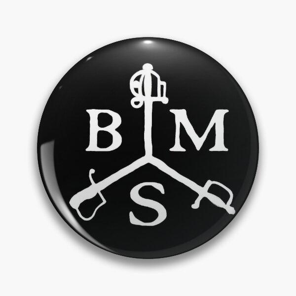 British Military Swordsmanship Mask Logo Pin