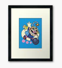 WarioWare - Wario! Framed Print