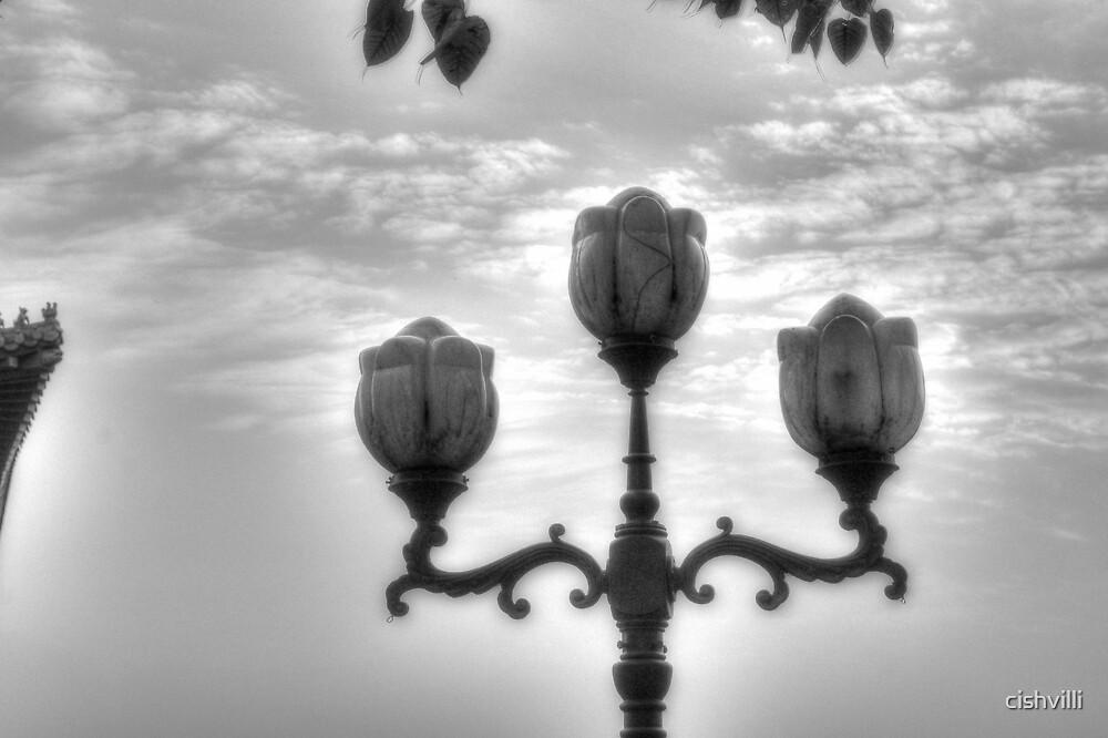 Lamp in Sky by cishvilli
