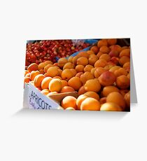 early apricots Greeting Card