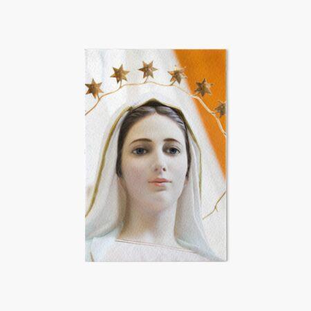 Mary of Medjugorje Art Board Print