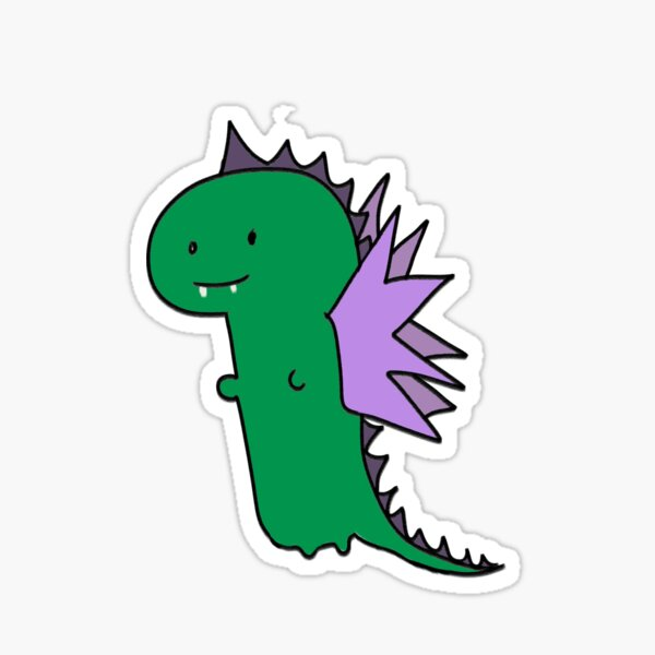 Jeff the Dragon Sticker