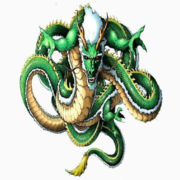 Green Dragon T-Shirt by Emporium