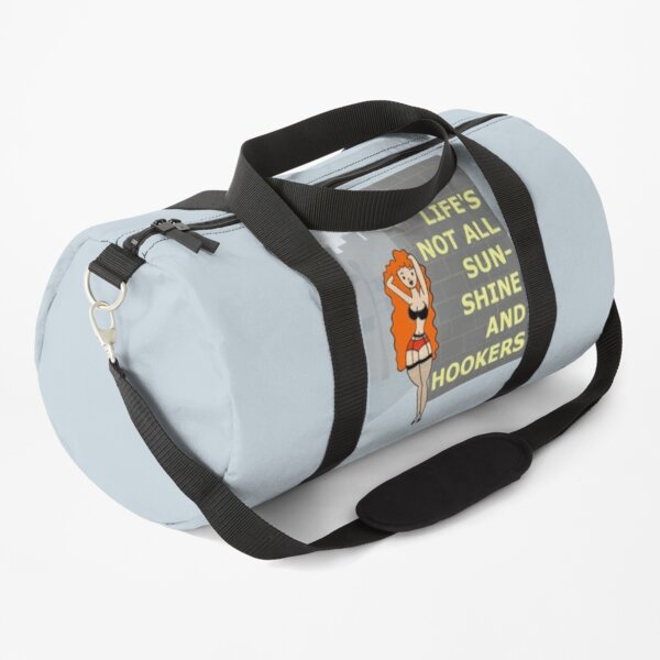 Sunshine & Hookers Duffle Bag