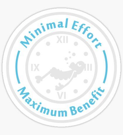 Minimal Effort VRS2 Sticker