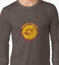 GOLDCOAST, QUEENSLAND, SURFING Long Sleeve T-Shirt