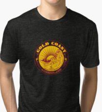 GOLDCOAST, QUEENSLAND, SURFING Tri-blend T-Shirt