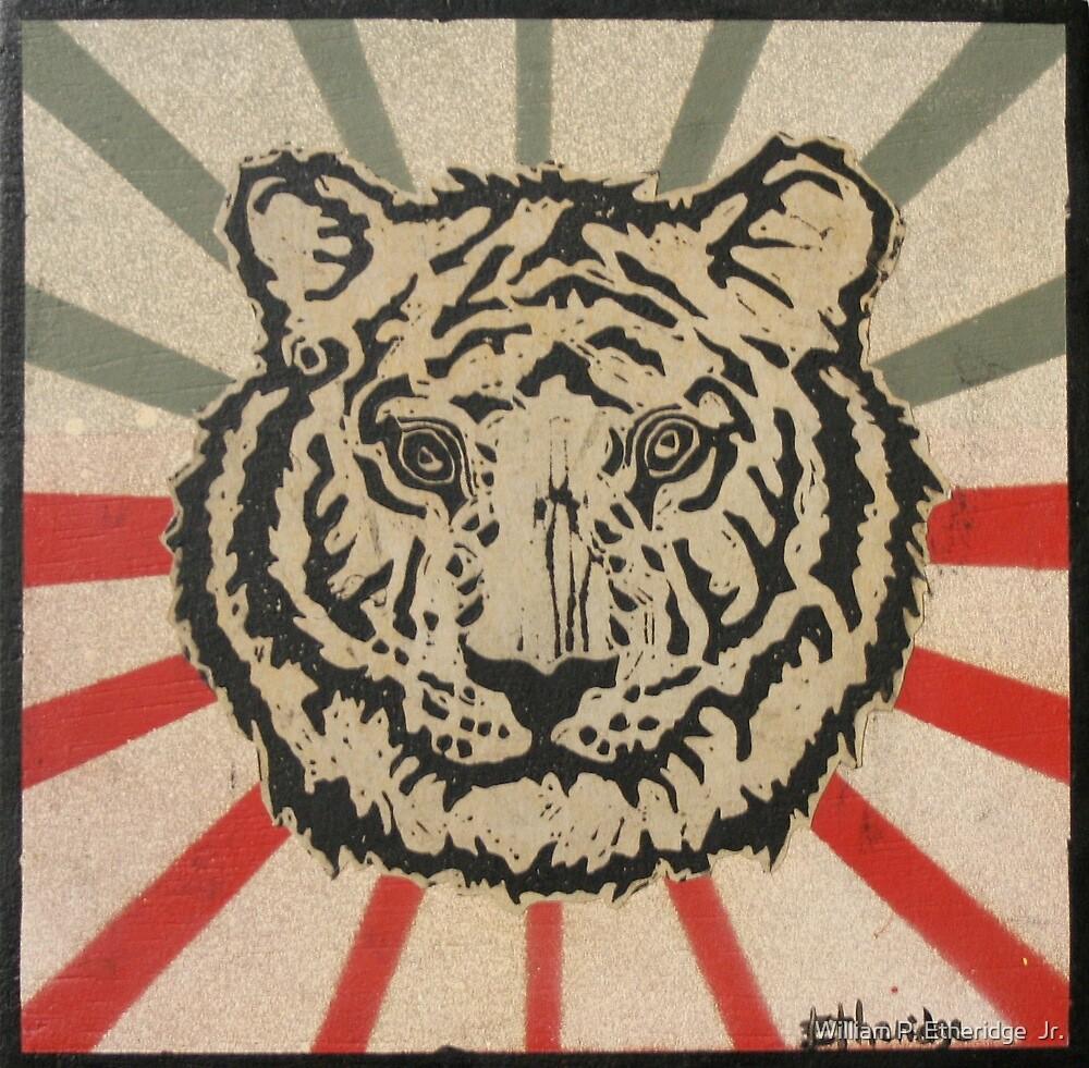 Tiger w/Starburst by William P. Etheridge  Jr.