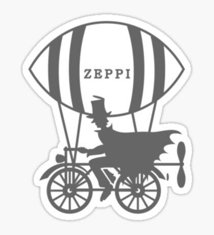 Zeppi - the Air Biker VRS2 Sticker
