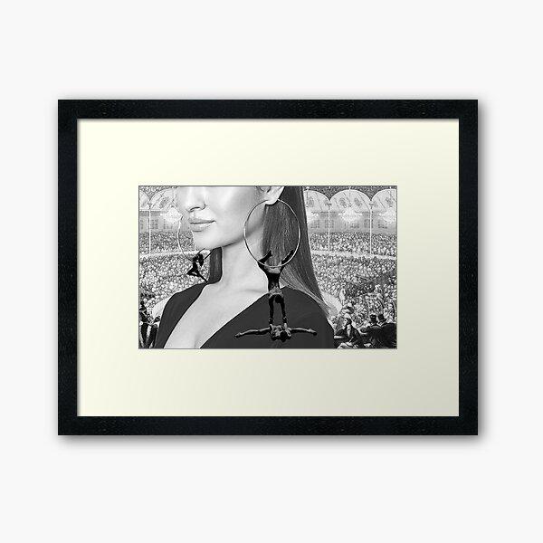 Acrobatic Accessories  Framed Art Print