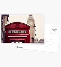 A very London telephone box Postcards