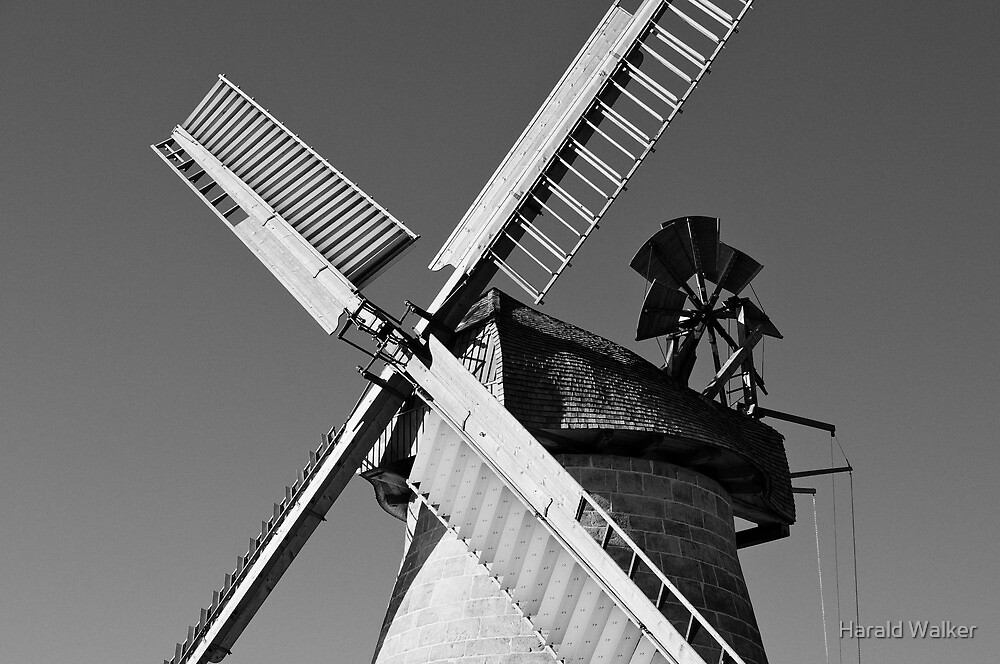 Mill in Eisbergen by Harald Walker