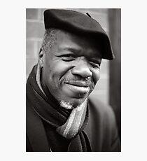 Etienne: Jazz Singer Photographic Print