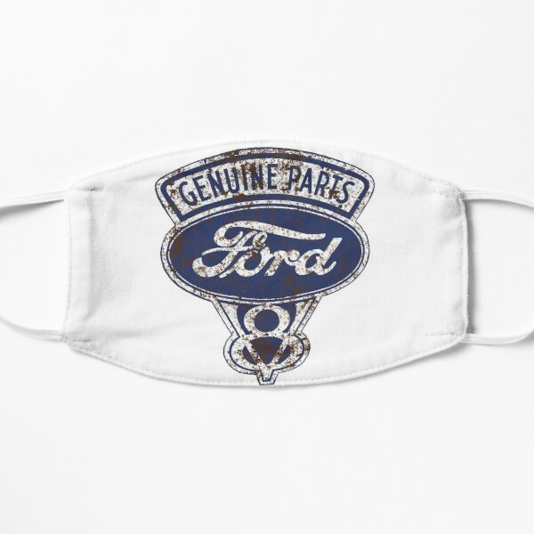 Oil Stained Ford Sign Mask