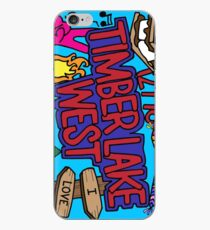 Timber Lake West iPhone Case