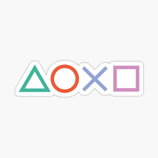 Autocollant Playstation Sticker