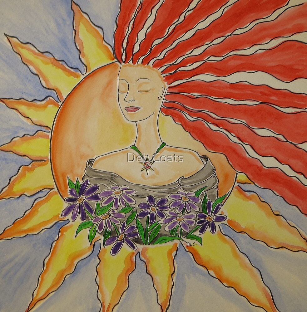 Becoming one with the Sun by Deb Coats