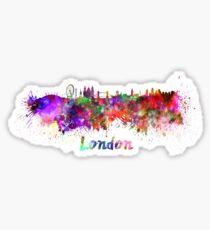 London skyline in watercolor Sticker