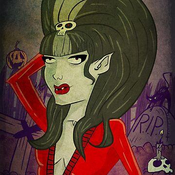Ghoulina DieCarlo by blackboxdesigns