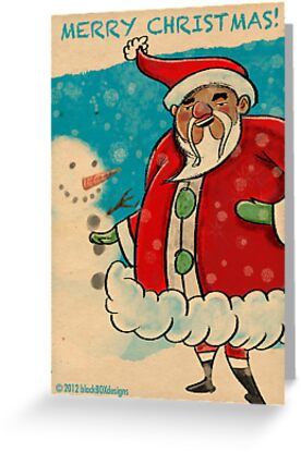 Here Comes Santa Claus... by blackboxdesigns