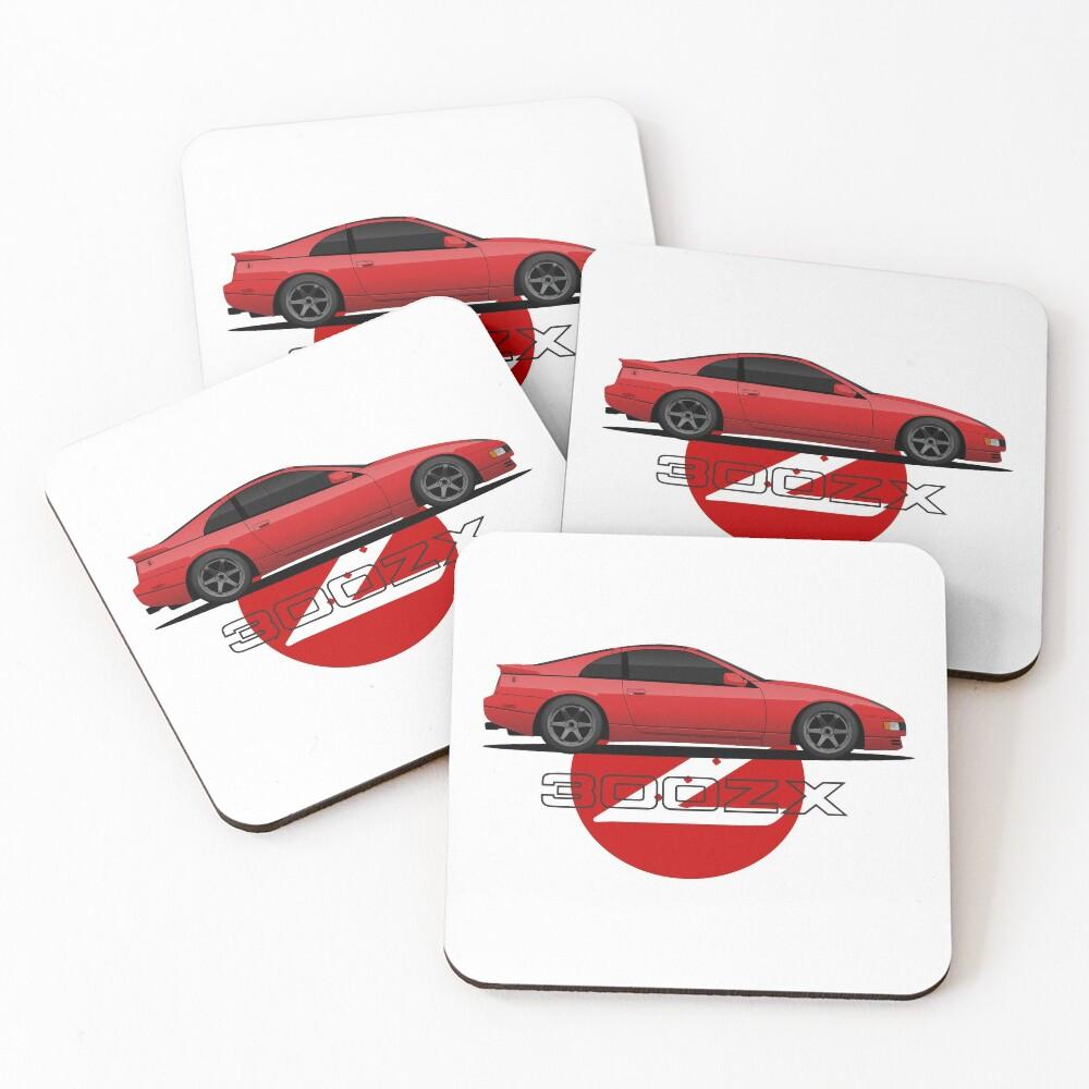 300ZX Z32 Coasters (Set of 4)