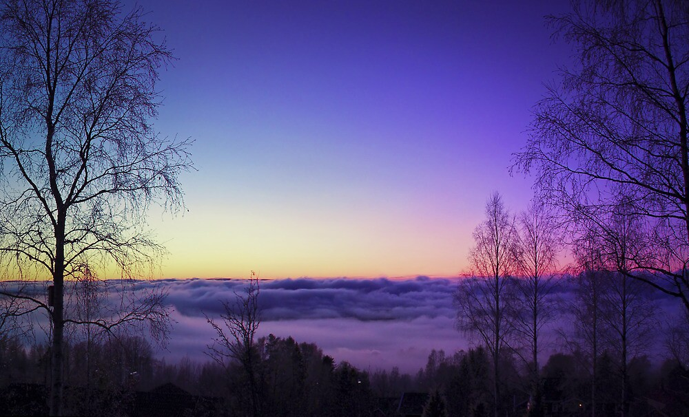 Over the clouds by Daniel G.