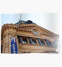 Flinders Street Station Melbourne 1 Poster