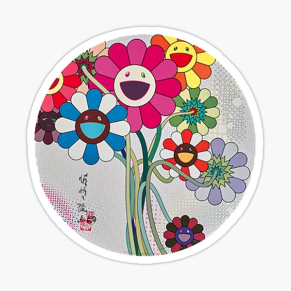 Murakami Bouquet  Sticker