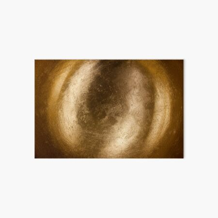 Golden Orb Art Board Print