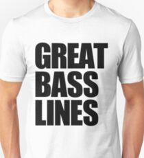 Great Bass Lines (black) T-Shirt