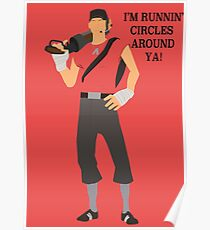 Team Fortress 2 - Scout Poster