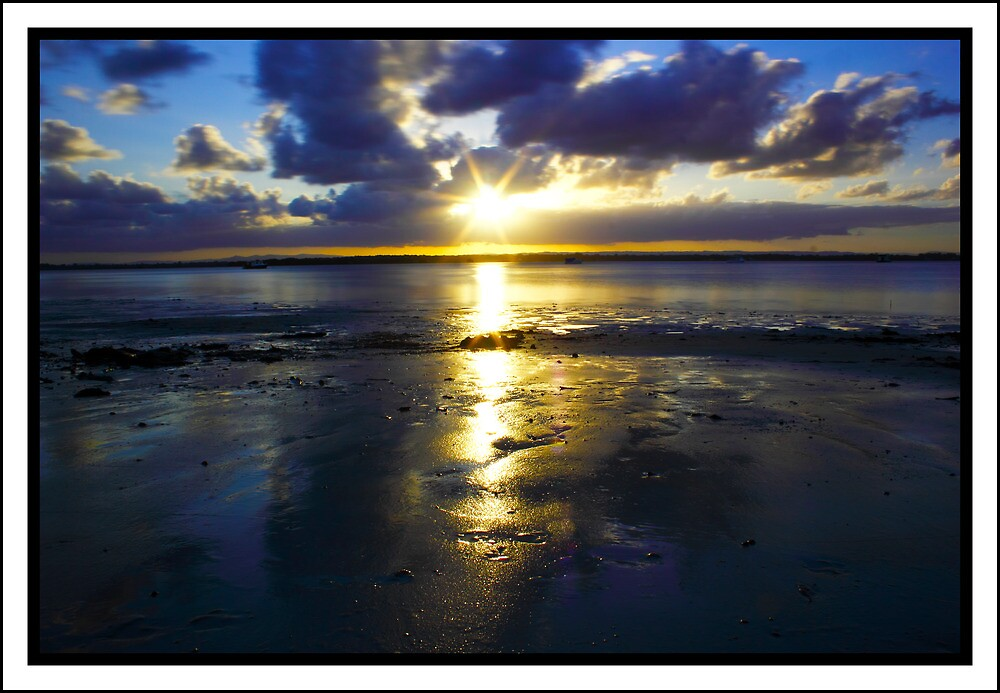 Bribie Sunset by dazscottphoto