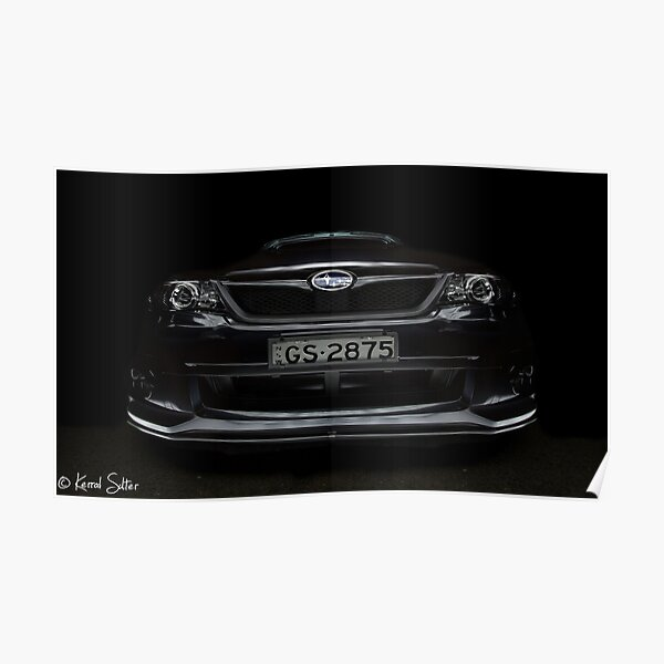 Subaru WRX Poster