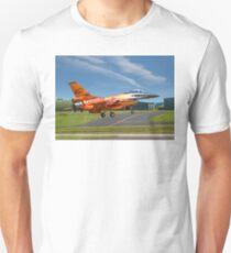 Fokker F-16AM Fighting Falcon J-015 Unisex T-Shirt
