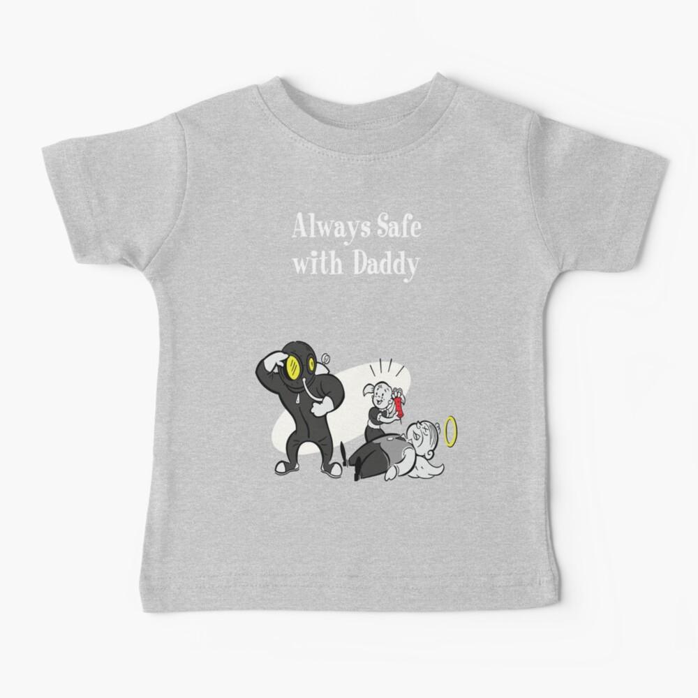 BioShock - Always Safe With Daddy (White) Baby T-Shirt