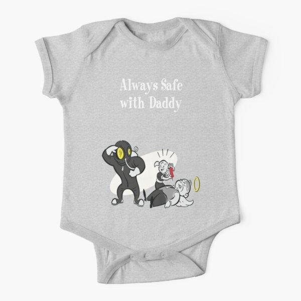 BioShock - Always Safe With Daddy (White) Short Sleeve Baby One-Piece