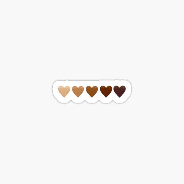 BLM Hearts Sticker