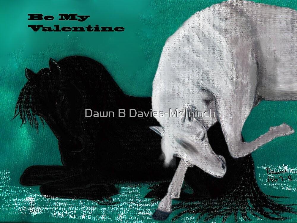 Be My Valentine - Equine Grace by Dawn B Davies-McIninch