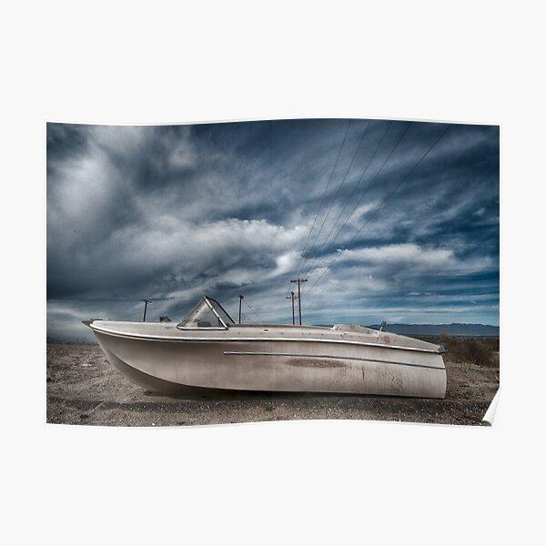 Salton Sea Series: Dry Dock Poster