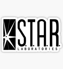 star laboratories Sticker